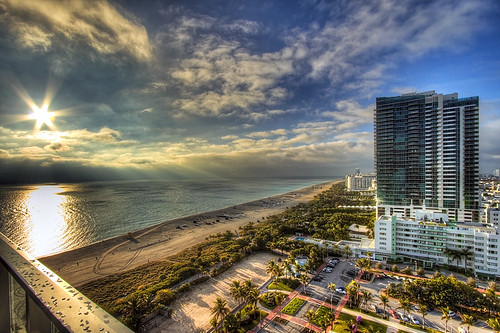Miami Beach - W Hotel Balcony View | by ryotnlpm