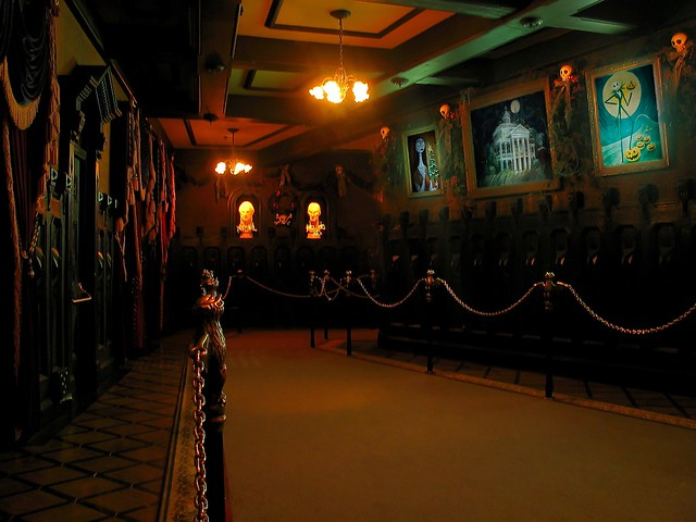 Haunted Mansion Holiday Foyer Music : Haunted mansion holiday portrait hall flickr photo