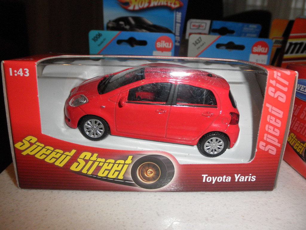 Toyota Yaris Die Cast Toy By Welly I Went To Big W