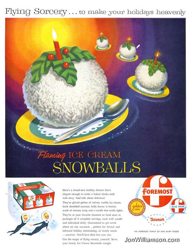 foremost flaming ice cream snowballs 19551128 life flickr