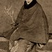 Geiko Kayo - wearing a Fur-trimmed Cape 1870s
