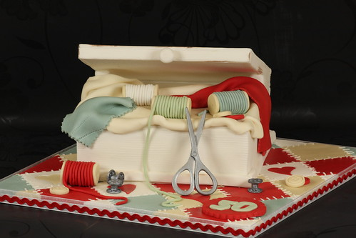 Sewing Box Cake | by Kingfisher Cakes
