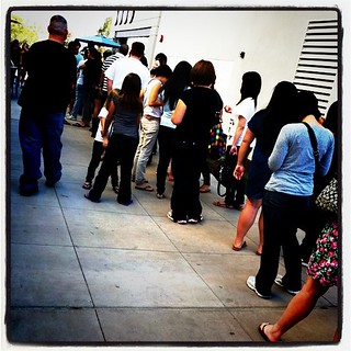 Long line at Sprinkles | by specksinsd
