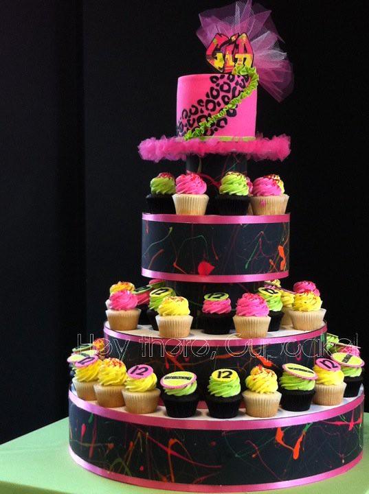 Hip Hop Birthday Cupcake Cake