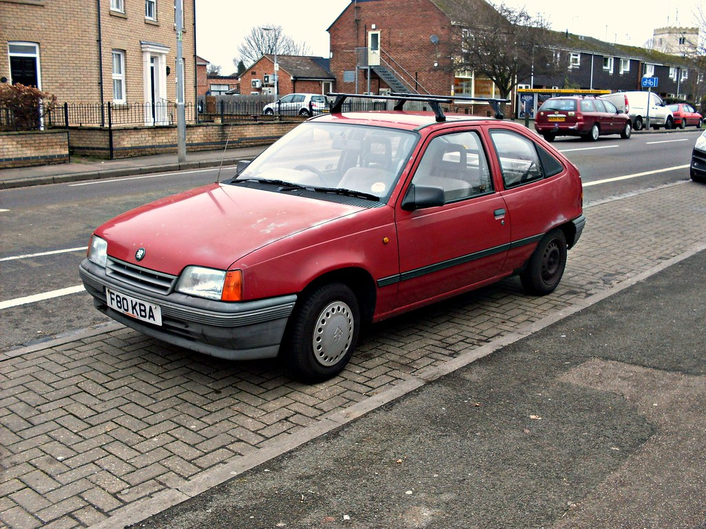 1989 Vauxhall Astra 1 3s Merit This Battered Astra Is