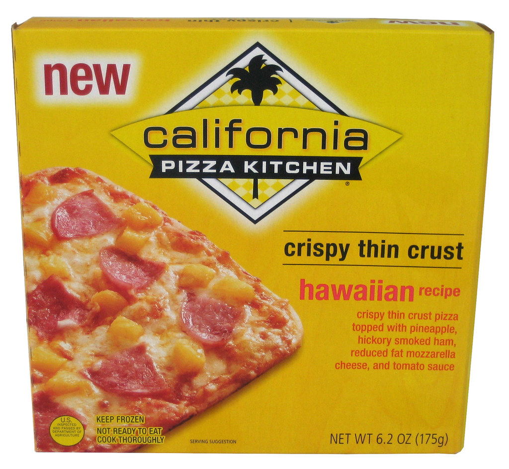 California Pizza Kitchen Gluten Free Frozen Pizza Allegens