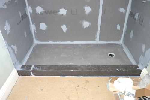 Install Wedi Board Floor For Shower Flickr Photo