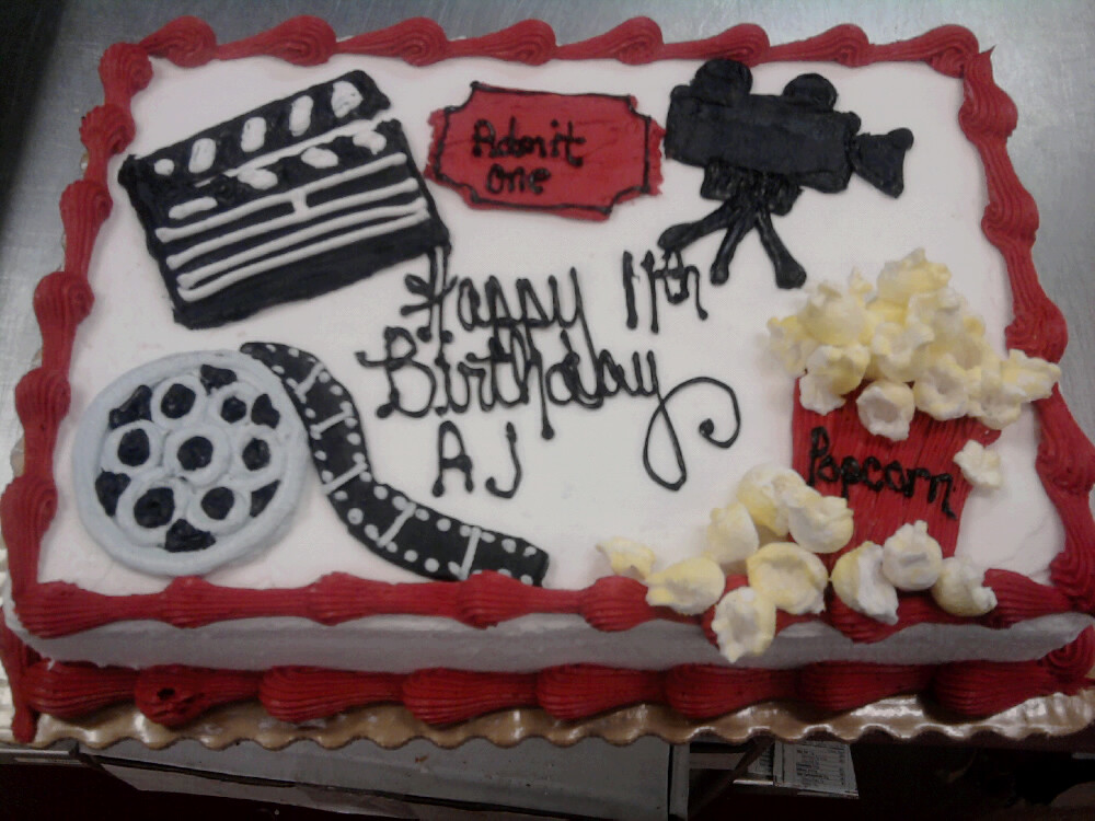 Movie Theme Cake Olivia Flickr