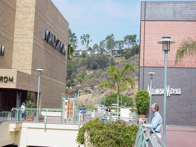 Nordstrom and Neiman Marcus Fashion Valley San Diego