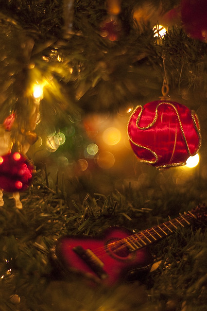 Christmas Tree Guitar Ornament Flickr Photo Sharing