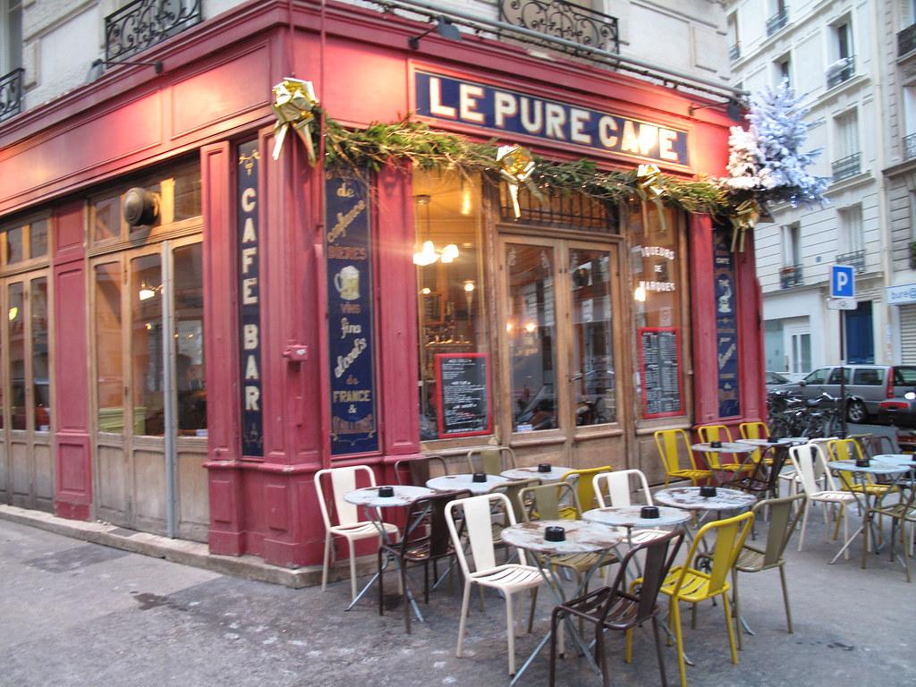 Le Pure Cafe Paris Before Sunset