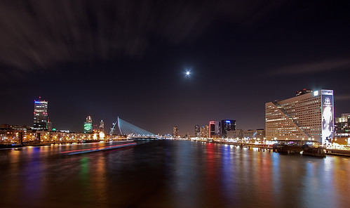 Rotterdam City @ Moonlight | by DolliaSH