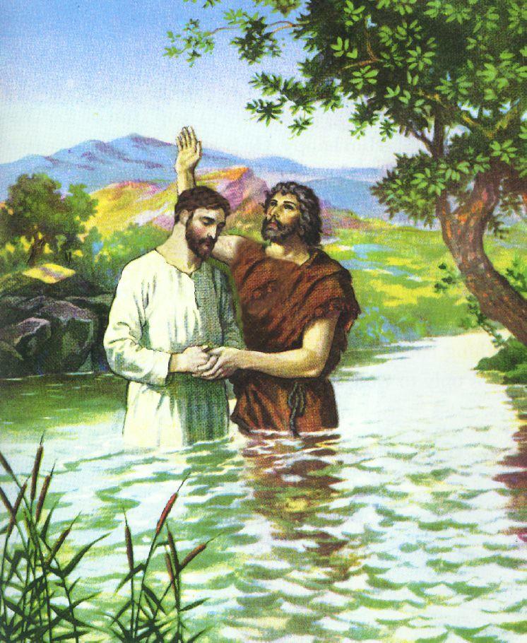 Bible Quotes About St John The Baptist: John Baptizing Jesus