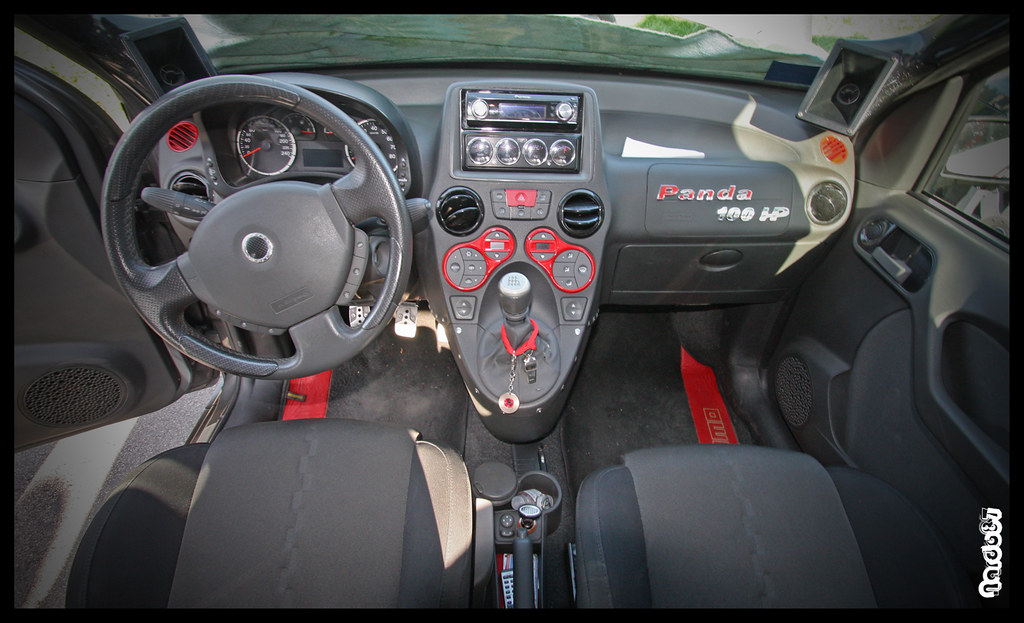 fiat panda 100 hp interior tuning website profile. Black Bedroom Furniture Sets. Home Design Ideas