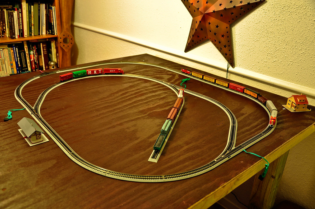 Christmas Train Track For Around The Tree