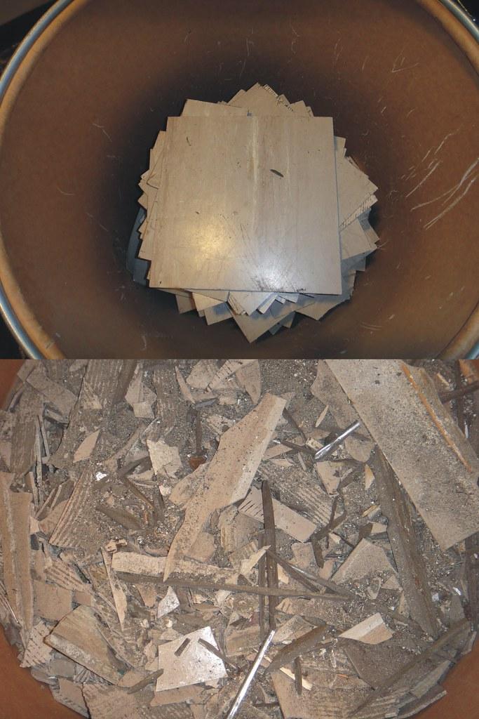 Intact Amp Quot Non Intact Quot Asbestos Floor Tile Combined