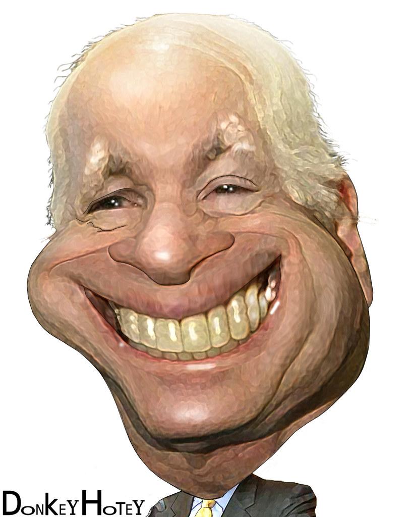 John Mccain >> John McCain - Caricature | Senator John McCain, Republican ...