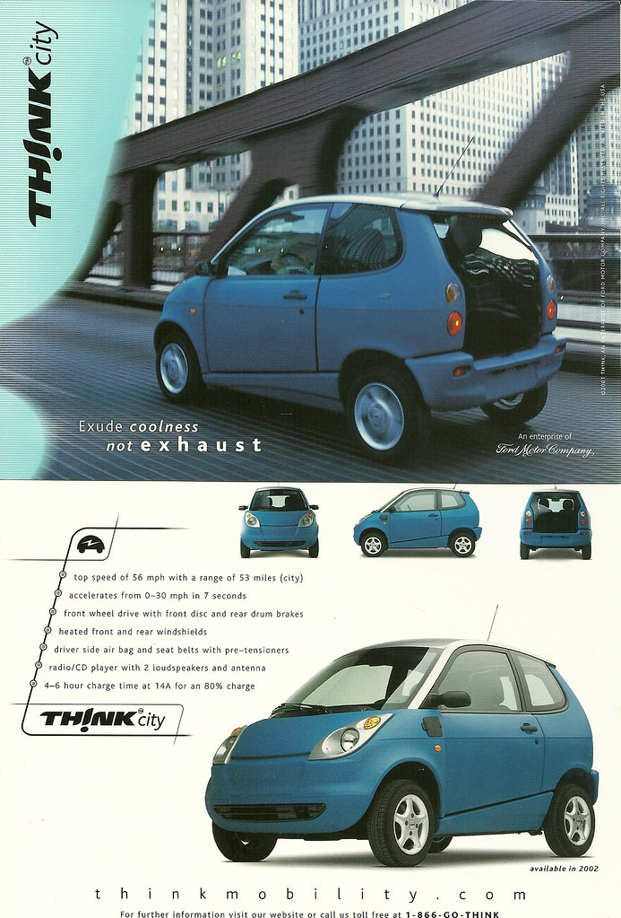 Ford Think Electric Car For Sale