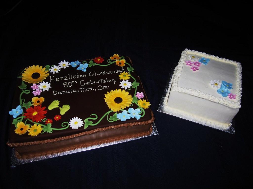 80th birthday cakes garden themed 80th birthday cake for Gardening 80th birthday cake