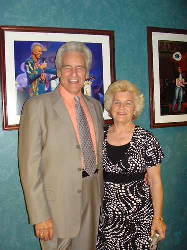 del and jean backstage | by delmccouryband