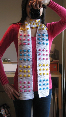 Candy Button Scarf | by pullstrings