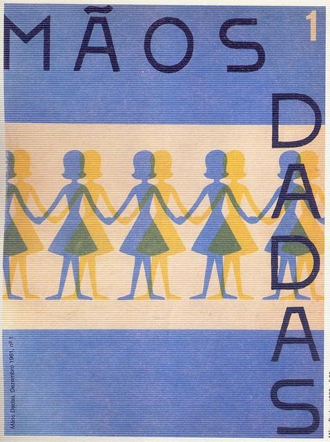Mãos Dadas, Nº 1, Dezembro 1961 - capa