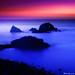 San Francisco Seal Rocks Long Exposure Study