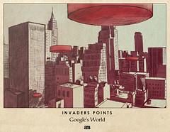 """Invaders Points """"Google's World"""""""