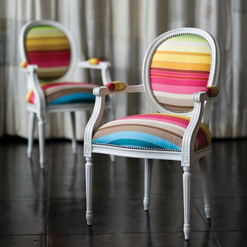 New inspiration: Classic Chair in Vibrant Colors | by New Inspiration Home Design