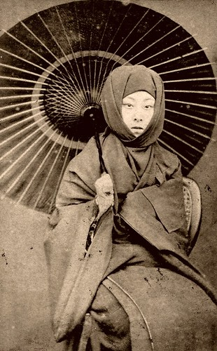 Geiko Kayo - in Winter Dress 1870s | by Blue Ruin1