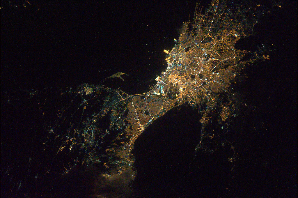 Manila By Night Manila By Night As Seen From Iss