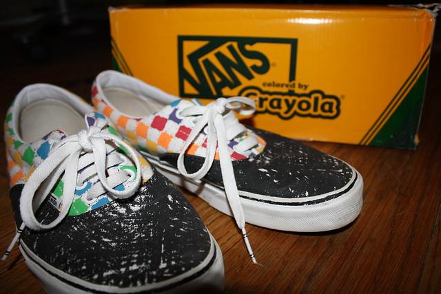 Crayola Vans