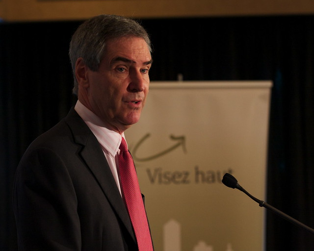 20 11 tour speech to the montreal youth chamber of for Chambre commerce montreal