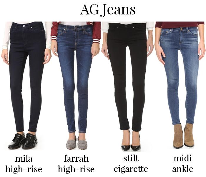 shopbop ag jeans