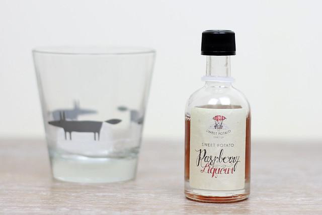 SP-Raspberrry Liqueur bottle