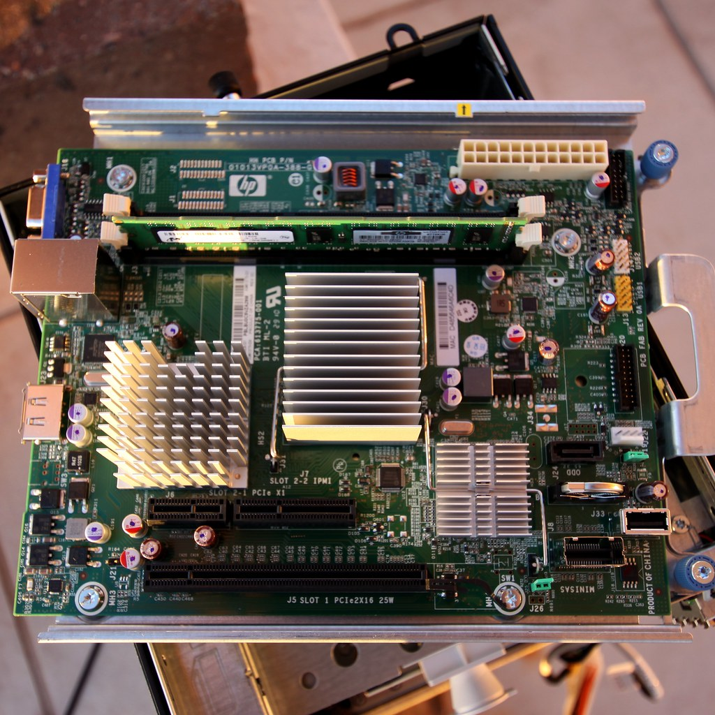 Ram E Card >> HP ProLiant N36L mainboard | The Hewlett-Packard Proliant N3… | Flickr