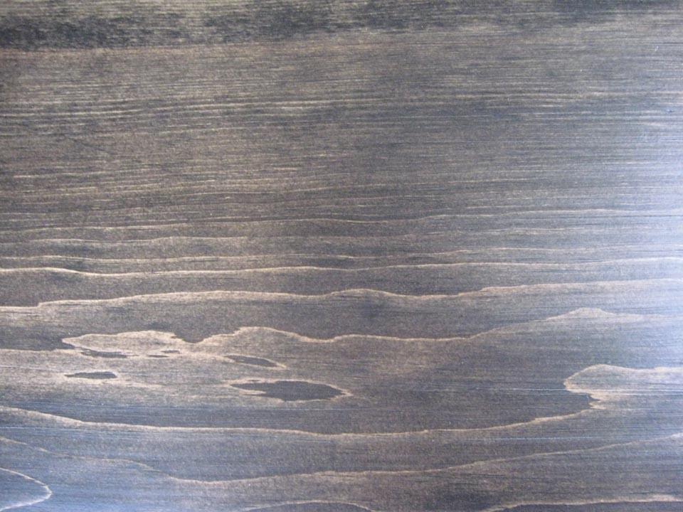 Minwax Colors on Pine Minwax Ebony on Pine | by