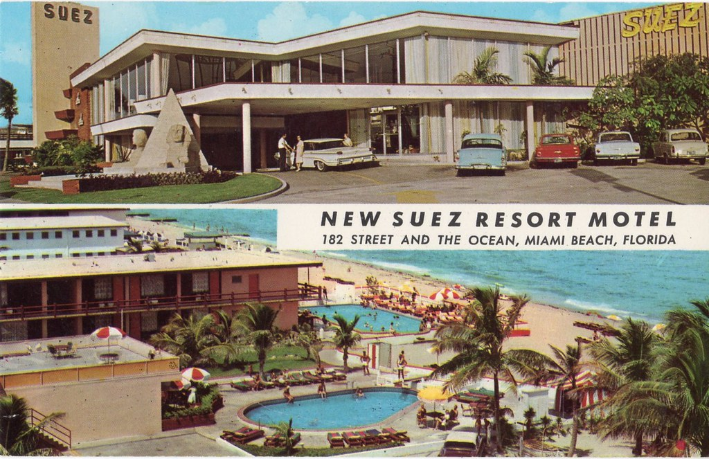 suez motel miami florida it 39 s at least 1960 with that