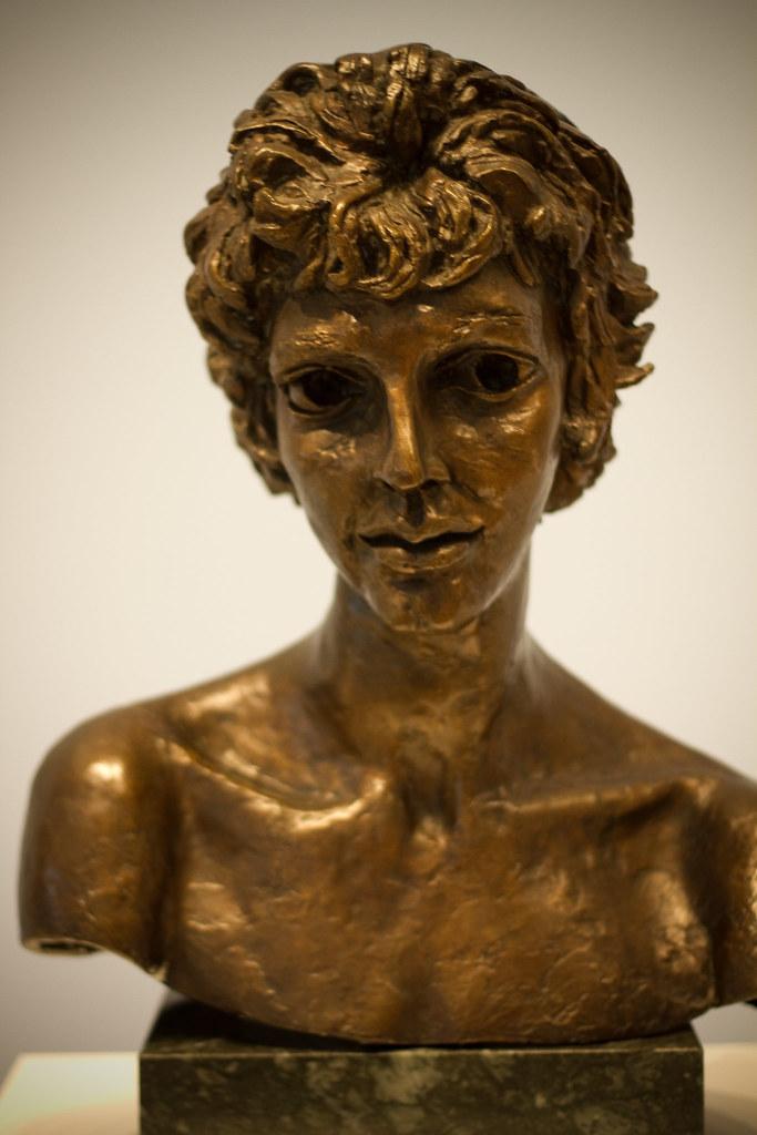 Kitty Jacob Epstein 1810 1959 England Kitty 1957 Bronze
