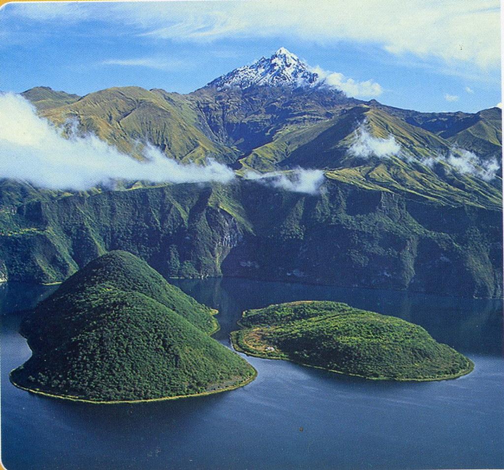 Cuicocha Lake Cotacachi Ecuador At 9 000 Ft Elevation Flickr