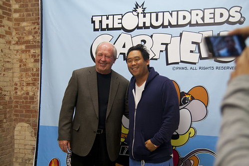 Jim Davis & David Choe | by duckshots.net
