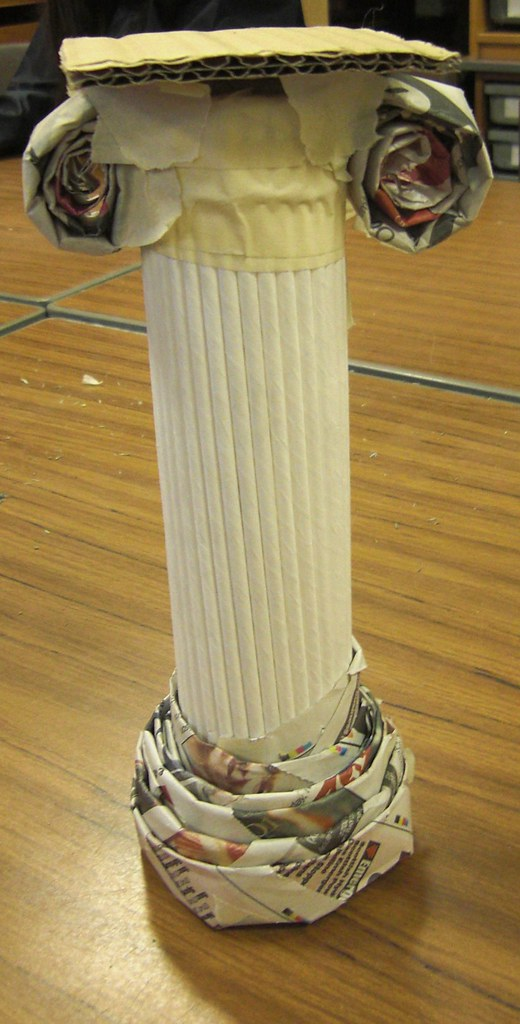 Cardboard Pillars And Columns : Greek columns aren t they great the