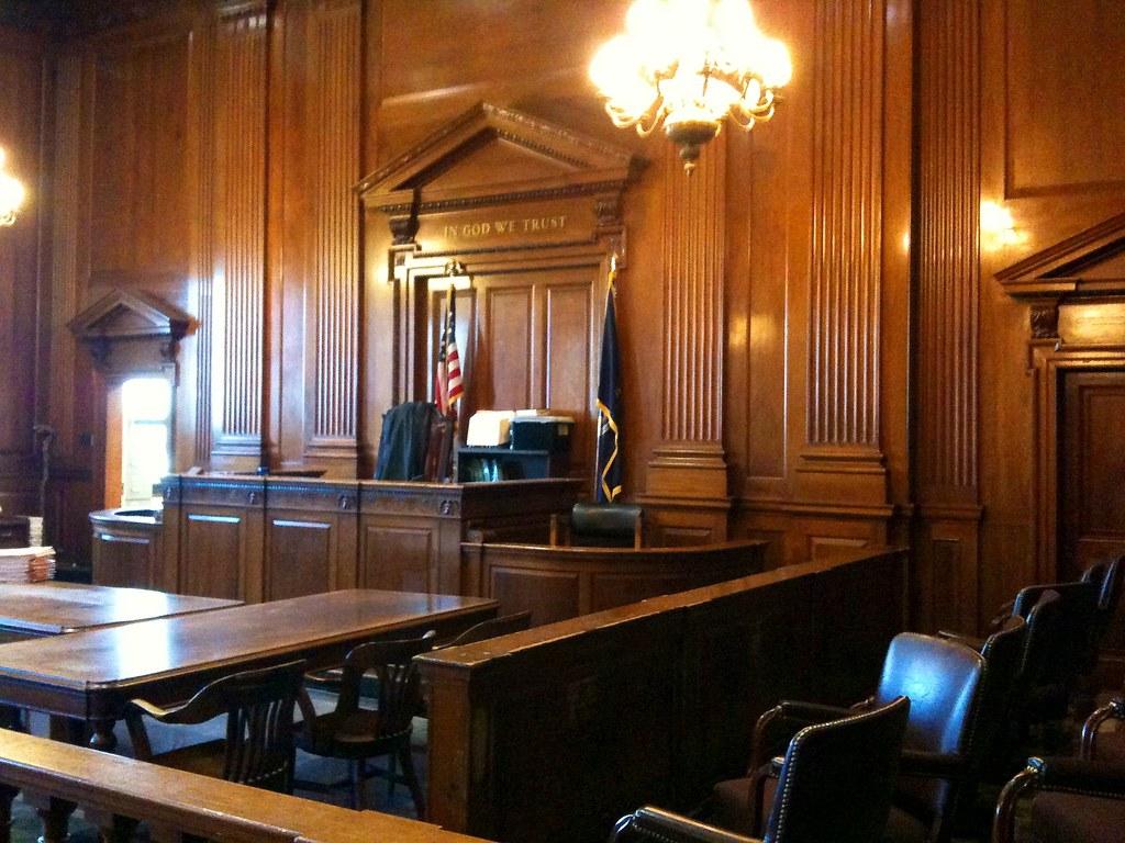 Court Room Judge S Bench