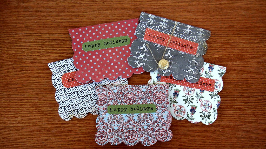 Diy christmas cards 2010 amy gizienski flickr for Handmade things videos