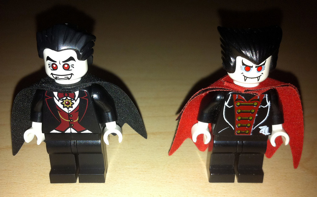 LEGO Collectible Minifigures Series 2 Vampire vs. Studios ...