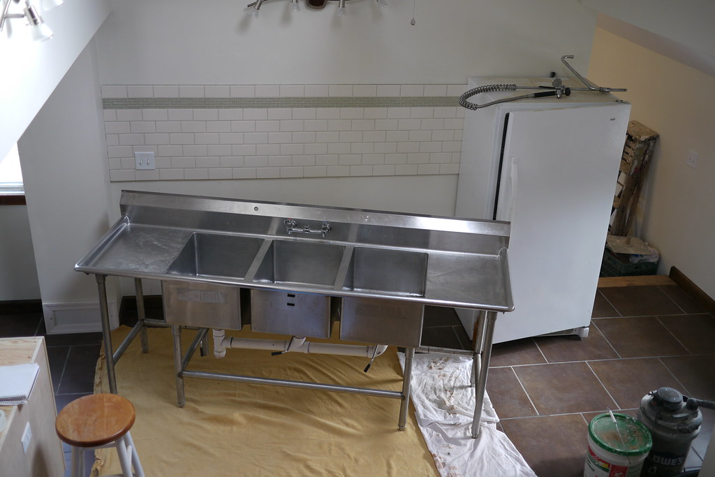 Commercial Kitchen Stainless Wall Panels