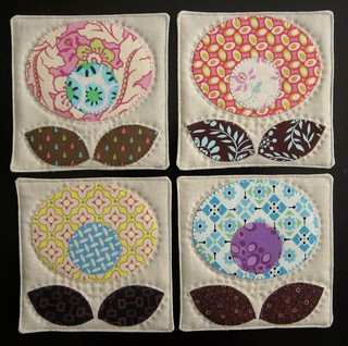 Pop Flower Coasters | by twinfibers