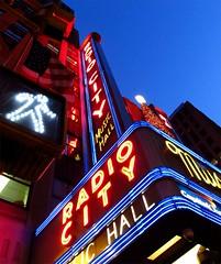 Radio City Neon by 3PuttPar