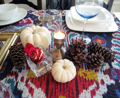 thanksgiving table setting centerpiece | by ...love Maegan