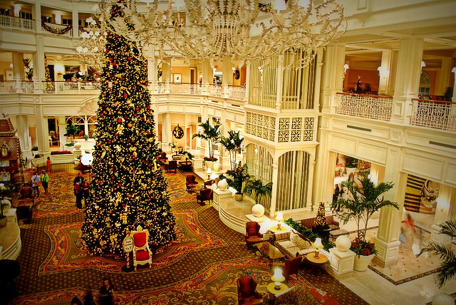 30 A Grand Floridian Christmas Flickr Photo Sharing
